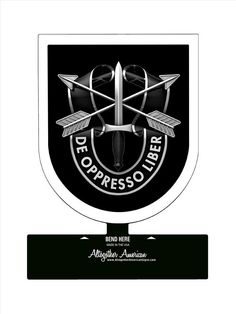 From the Altogether American licensed collection, this Special Forces Group Sign custom metal shape measures 15 inches by 18 inches and weighs in at 2 lb(s) Navy Special Forces, Special Forces Gear, Special Ops, Army Green Beret, Military Gear, Military Memes, Special Force Group, Military Insignia, Table Signs