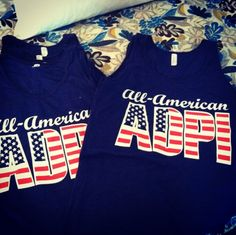 All American AOII.. you actives should make these!!