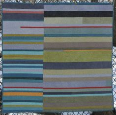 Mid-century Modern Quilt by Scott Case, an original design featured on her website.