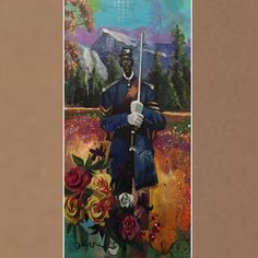 """""""Buffalo Soldier"""" by Charly Palmer More art at www.buyblackart.com"""