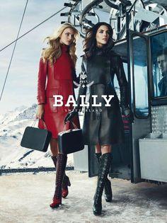 バリー 2012秋冬の広告ヴィジュアルは「スイスの幻想的な風景」 | アパレルウェブ取材|ファッション・アパレルのニュース