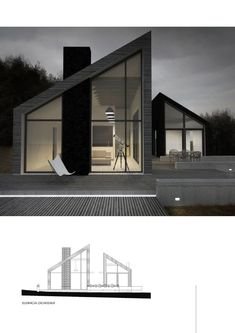 21 Relaxing Minimalist House Plan Ideas That Trend Now Architecture Résidentielle, Contemporary Architecture, Minimalist Architecture, Design Exterior, Two Storey House, Modern House Design, House Roof Design, Minimalist Home Design, Modern Minimalist House