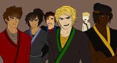 drawing by AskKaiFlame<< I dunno bout y'all but I am loving Zane in the back okay (also Cole is hot af)<<<zane is a Mood Lego Ninjago Movie, Lego Movie, Treasure Planet, Kids Shows, Doctor Strange, Disney Movies, Cartoon Movies, Legos, Drawing