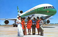 Cathay L1011 and crew