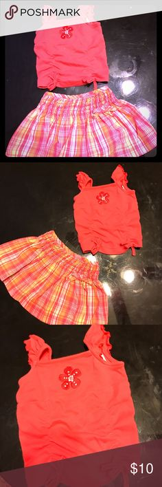Infant skirt set Like new condition 3-6 month Matching Sets