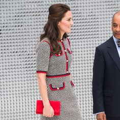 The royal switched things up in a frock fit that looked pulled out of Jackie Kennedy's White House wardrobe.