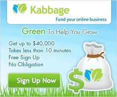 I can't imagine where my business would be now if it weren't for Kabbage.  Every business needs a little help now and then, with Kabbage by your side you can take advantage of opportunities to grow your business when they arise.  What does your business need right now that you've been putting off buying?  Maybe Kabbage can help!