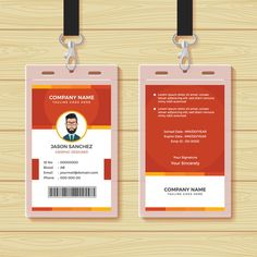 Find Red Employee Id Card Design Template stock images in HD and millions of other royalty-free stock photos, illustrations and vectors in the Shutterstock collection. Minimal Business Card, Business Card Psd, Professional Business Cards, Id Card Template, Card Templates, Employee Id Card, Corporate Id, Corporate Offices, Company Id