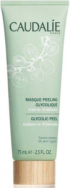 CAUDALIE Glycolic Peel Mask #CharcoalMask Glycolic Peel, Glycolic Acid, Peel Off Mask, Hair Loss Remedies, Pores, Moisturizer With Spf, Homemade Face Masks, Good Skin, Skin Care Tips