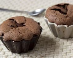 Mini-fondants au chocolat