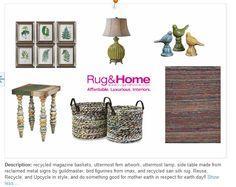 Eco friendly home goods