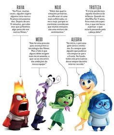 Divertida Mente estreia essa semana                                                                                                                                                                                 Mais Disney Magic, Disney Pixar, Walt Disney, Disney Characters, Inside Out Emotions, Disney Inside Out, Coding For Kids, Pixar Movies, Character Costumes