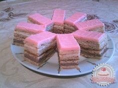 Holland szelet Hungarian Recipes, Cobbler, Scones, Sweet Treats, Cheesecake, Cooking Recipes, Bread, Cookies, Baking
