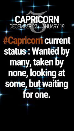 Quotes single waiting so true 41 ideas Capricorn And Taurus, Capricorn Tattoo, Capricorn Quotes, Zodiac Signs Capricorn, Zodiac Star Signs, My Zodiac Sign, Zodiac Quotes, Capricorn Season, Pisces Horoscope