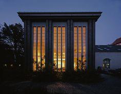 Pumping Station Berlin // Wenk und Wiese Architects // Berlin, Germany