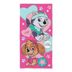 Girls Paw Patrol Towel