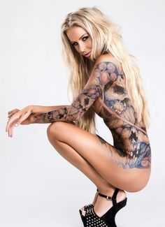 2K2BT Tattoo Clothing Eye Candy Vol. 13   2K2BT.COM Clothing Apparel