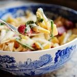 Spicy Pasta Salad with Gouda