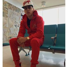 Brytiago Fresh Outfits, Rap, Leather Jacket, Celebrities, Boys, Fitness, Jackets, Random, Style