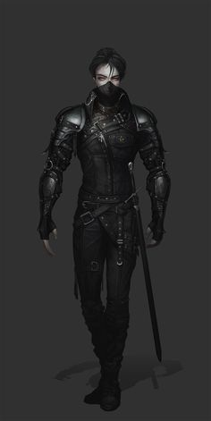 Kai Fine Art is an art website, shows painting and illustration works all over the world. Fantasy Character Design, Character Design Inspiration, Character Concept, Character Art, Fantasy Armor, Dark Fantasy Art, Medieval Fantasy, Fantasy Fighter, Dungeons And Dragons Characters