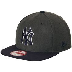 8a7a0f49e095d Men's New York Yankees New Era Graphite/Navy Original Fit 9FIFTY Snapback  Adjustable Hat