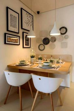 Best and Stylish Inspiring First Apartment Dining Room Ideas 12 - Best and Styl. - Best and Stylish Inspiring First Apartment Dining Room Ideas 12 – Best and Stylish Inspiring Fir - Small Dining Room Furniture, Tiny Dining Rooms, Beautiful Dining Rooms, Small Dining Area, Small Dinning Room Table, Small Dinner Table, Small Living Dining, Space Saving Dining Table, Living Rooms