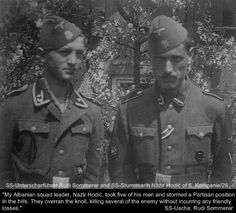 Interestingly, many Muslim SS members, who recieved the Iron Cross, only wore the ribbon