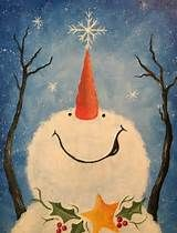 christmas paintings on canvas - Yahoo Image Search Results