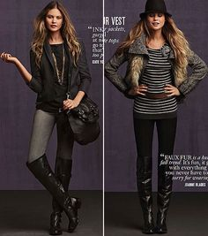 My fall edit victorias secret -michelle marrero absolutely love these looks, my style entirely!