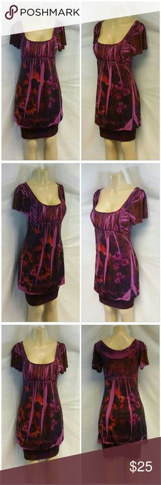 """40% BUNDLE DISCOUNT! FREE SHIPPING ON BUNDLES! BELIEVE, MADE IN USA, Cold Shoulder, Slight Bubble Bottom Above a Bandage Bottom Hem, Dress Medium See Measurements, empire waist, gathered at bust, scoop neck, fully lined, machine washable, 95% polyester, 5% spandex, lining 100% nylon, approximate measurements:37"""" length shoulder to hem, 18"""" bust laying flat but stretches quite a bit. ADD TO A BUNDLE! 40% BUNDLE DISCOUNT! FREE SHIPPING ON BUNDLES!! """"OFFER"""" $6 LESS ON BUNDLES! Price firm unless…"""