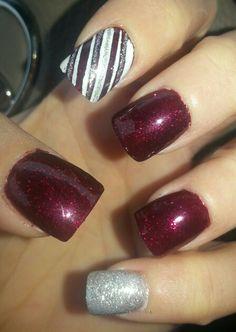 Holiday nails #sephoranailspotting
