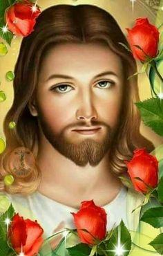 Jesus Son Of God, King Jesus, Jesus Loves You, Pictures Of Jesus Christ, Bible Pictures, Jesus Photo, Good Morning Prayer, Holy Quotes, Eucharist