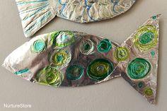 simple fish craft for preschool