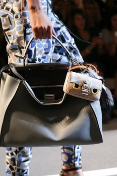 Fendi Spring 2015 - another super focused shot on a bag. I don't think we should be afraid to do these