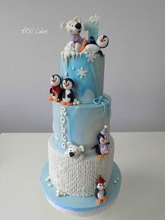 Pinguins by MOLI Cakes