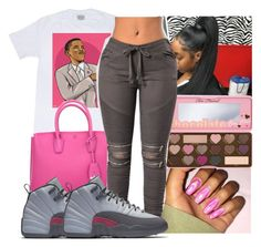 """""""Untitled #1108"""" by kodakdej ❤ liked on Polyvore featuring MCM and Too Faced Cosmetics"""