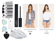 Untitled #11 by hannah-s-b on Polyvore featuring polyvore, fashion, style, adidas Originals, Quay, NARS Cosmetics, Lipsy and clothing