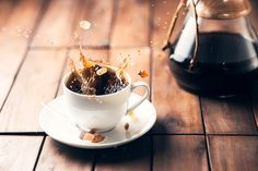 https://flic.kr/p/Bf6Dz7 | Coffee Splash! | Haven't seen that one in a while so i thought i'd give it a go ;-) Besides... i miss doing those simple lifestyle-things.   My girlfriend always says i shouldn't put that much sugar in my coffee though...  Canon EOS 6D, Canon 85mm 1.8 Website - Journal - Photoshop Actions - Facebook