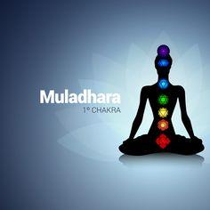 El 1º Chakra designado con el nombre de Muladhara es identificado como el espacio de la creación o la conciencia del ser.