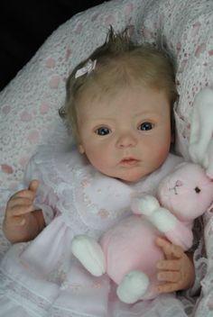 ~Bespoke Babies~'Livia' Gudrun Legler Sold Out LE Reborn Baby Girl~