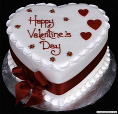 The most romantic occasion of the year Valentine's Day is coming with its excitements and magical charms. Have you select the idea of celebration of this festive occasion with special dessert? Wedding Cakes With Cupcakes, Fun Cupcakes, Cupcake Cakes, Heart Shaped Cakes, Heart Cakes, Beautiful Cakes, Amazing Cakes, Rodjendanske Torte, Mothers Day Cake