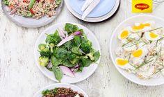 Vegetables salad and eggs // Salata de spanac, broccoli, ceapa si oua fierte Tu si MAGGI faceti o combinatie senzationala pentru cina! Spune-ne doua feluri de mancare din poza pe care le-ai combina pentru cina, iar MAGGI iti spune ce combinatii de alimente pot sa faca orice masa mai bogata si mai gustoasa! -> https://www.facebook.com/MAGGI.Romania/photos/a.287902021283228.66885.287189181354512/637533046320122/?type=1&stream_ref=10