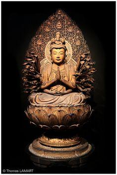 Kannon statue @ Tokyo National Museum, Japan