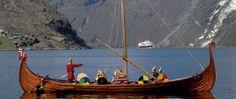 Viking Ship on Geirangerfjord