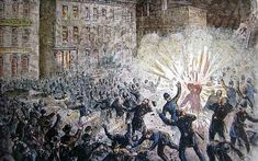 The article describes the Haymarket riot from how it started to the aftermath of the event. It reveals how the industrial revolution impacted workers negatively, leading them to organize a protest to have eight-hour workdays instead of a ten to fourteen hour workday. It shows how the impact of unfair working conditions from the industrial revolution made people feel they had to protest and even act irrationally when confronted.