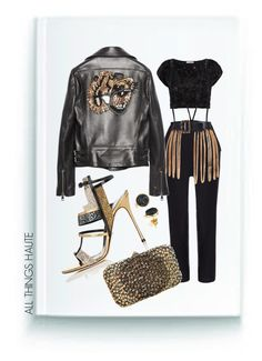 """""""Untitled #149"""" by athnow ❤ liked on Polyvore featuring Gucci, Sergio Rossi, Chanel, Valentino and H.Azeem"""