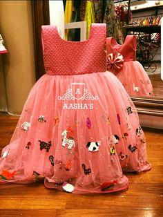 Kids Dress Wear, Kids Gown, Dresses Kids Girl, Kids Outfits, Baby Dresses, Frock Patterns, Baby Girl Dress Patterns, Cotton Frocks For Girls, Party Wear Frocks