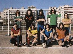 Pink Floyd playing football in Marseille, France, November 1972. #fashion #style #stylish #love #me #cute #photooftheday #nails #hair #beauty #beautiful #design #model #dress #shoes #heels #styles #outfit #purse #jewelry #shopping #glam #cheerfriends #bestfriends #cheer #friends #indianapolis #cheerleader #allstarcheer #cheercomp  #sale #shop #onlineshopping #dance #cheers #cheerislife #beautyproducts #hairgoals #pink #hotpink #sparkle #heart #hairspray #hairstyles #beautifulpeople #socute…