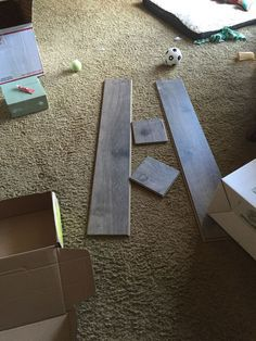Leftover Laminate Flooring Projects
