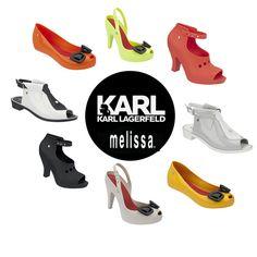 Melissa + Karl Lagerfeld, la nuova capsule collection! http://modaflash.blogspot.it/2014/07/melissa-karl-lagerfeld2014.html #fashion #melissa #shoes #moda #karllagerfeld
